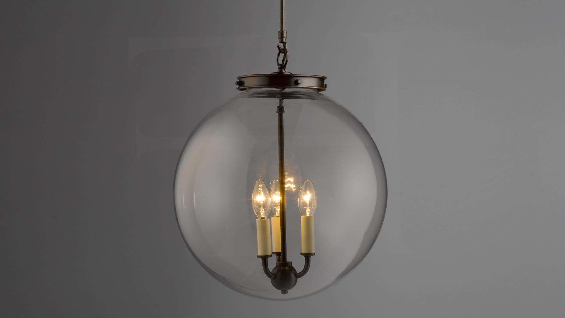 Replacement Glass Globe For Outdoor Chandelier Glass Globe