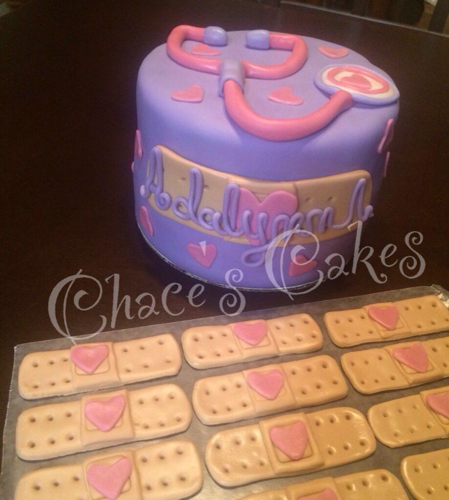 Doc mcstuffins bandages doc mcstuffins party ideas on pinterest doc - Doc Mcstuffins Smash Cake