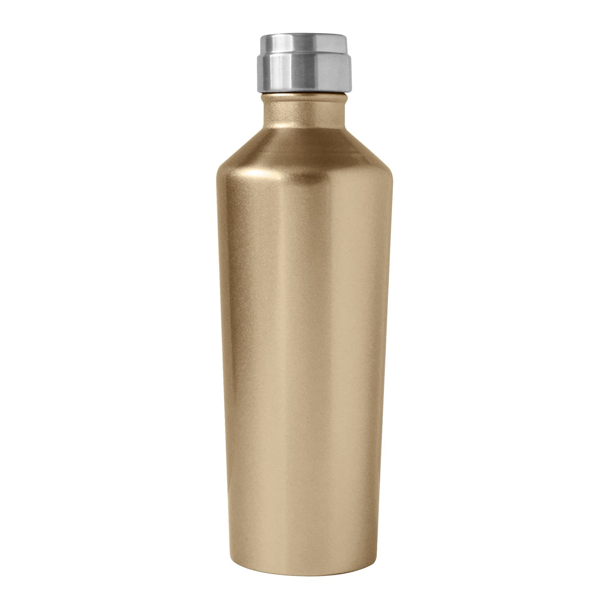 Oggi Deco Lustre 17oz Stainless Steel Insulated Water Bottle Gold