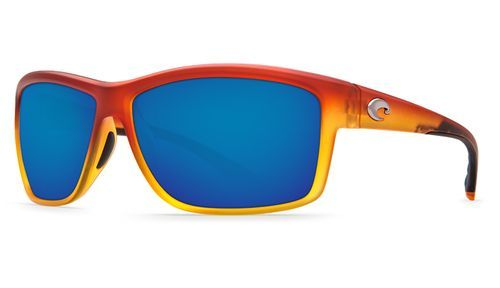 Costa Del Mar Mag Bay Sunglasses Matte Sunset Fade Frame/Blue Mirror Lens 580P