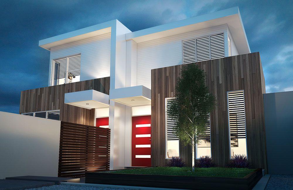 Dual occupancy home designs duplex builders house for Dual occupancy home designs