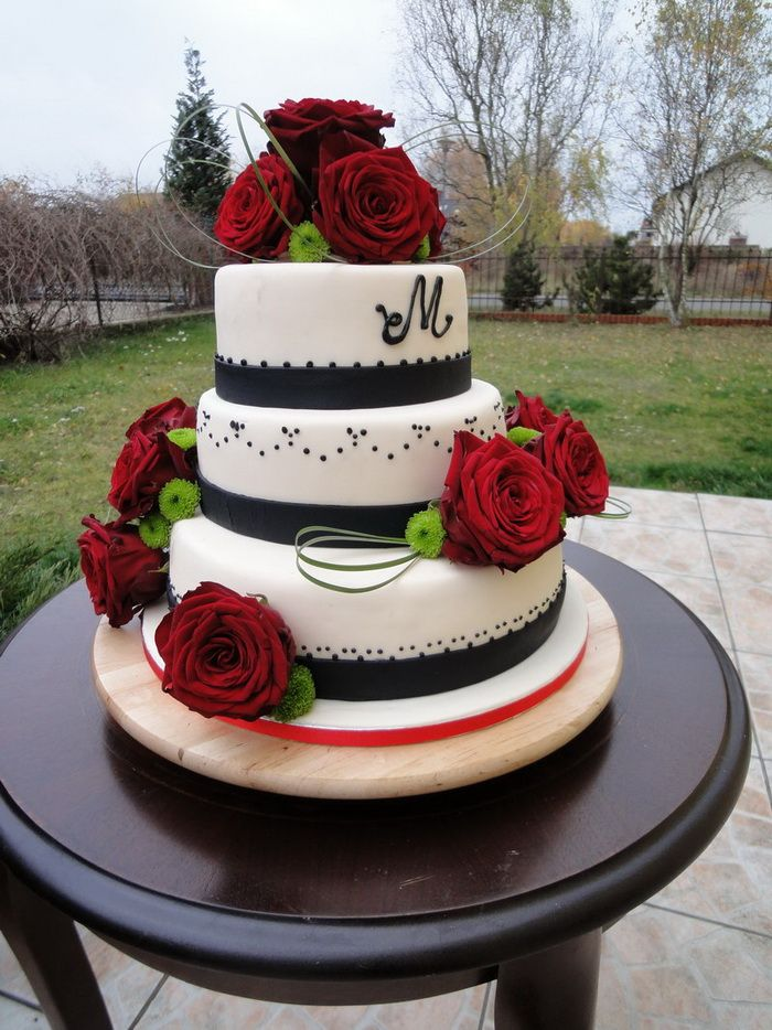 Roses Wedding Cakes Ideas Wedding Cakes Designs Idea
