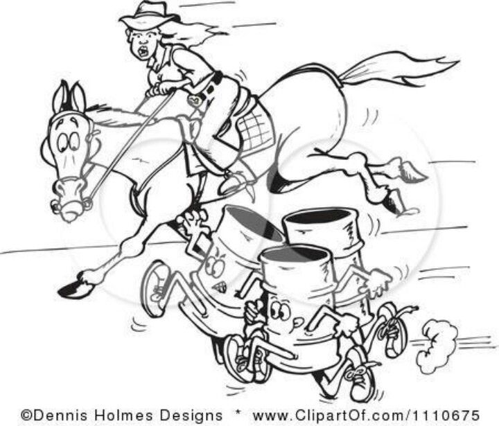 barrel racing coloring pages - lowrider coloring pictures