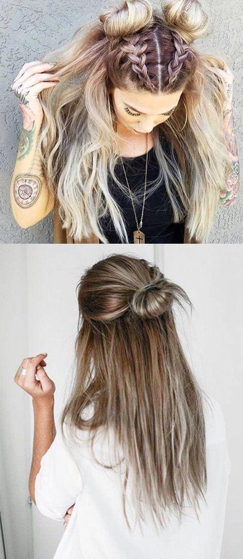 5 Minuten Frisuren Für Locken Frisur Pinterest Haar Ideen