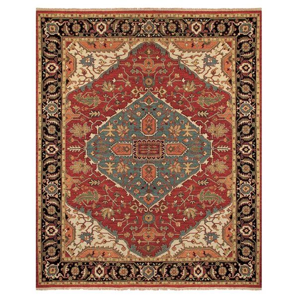 You'll love the Barney Floral Handmade Red/Brown Area Rug at Wayfair - Great Deals on all Rugs products with Free Shipping on most stuff, even the big stuff.