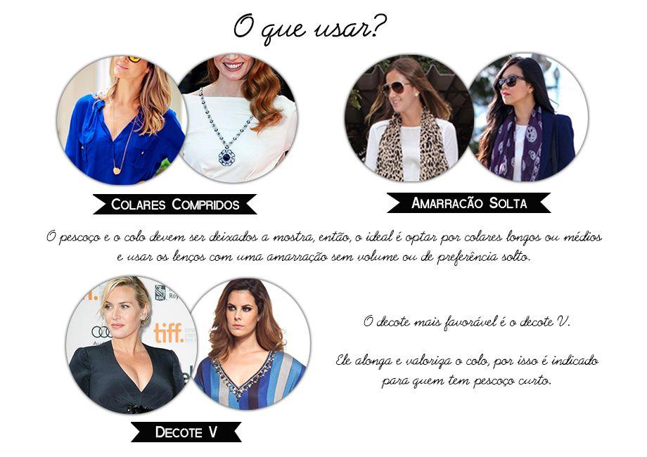 pescoço curto - o que usar? / dicas de moda / consultoria de imagem / imagem e estilo / personal stylist