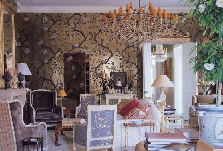 Soggiorno in stile inglese   Idee di interior design, Idee ...