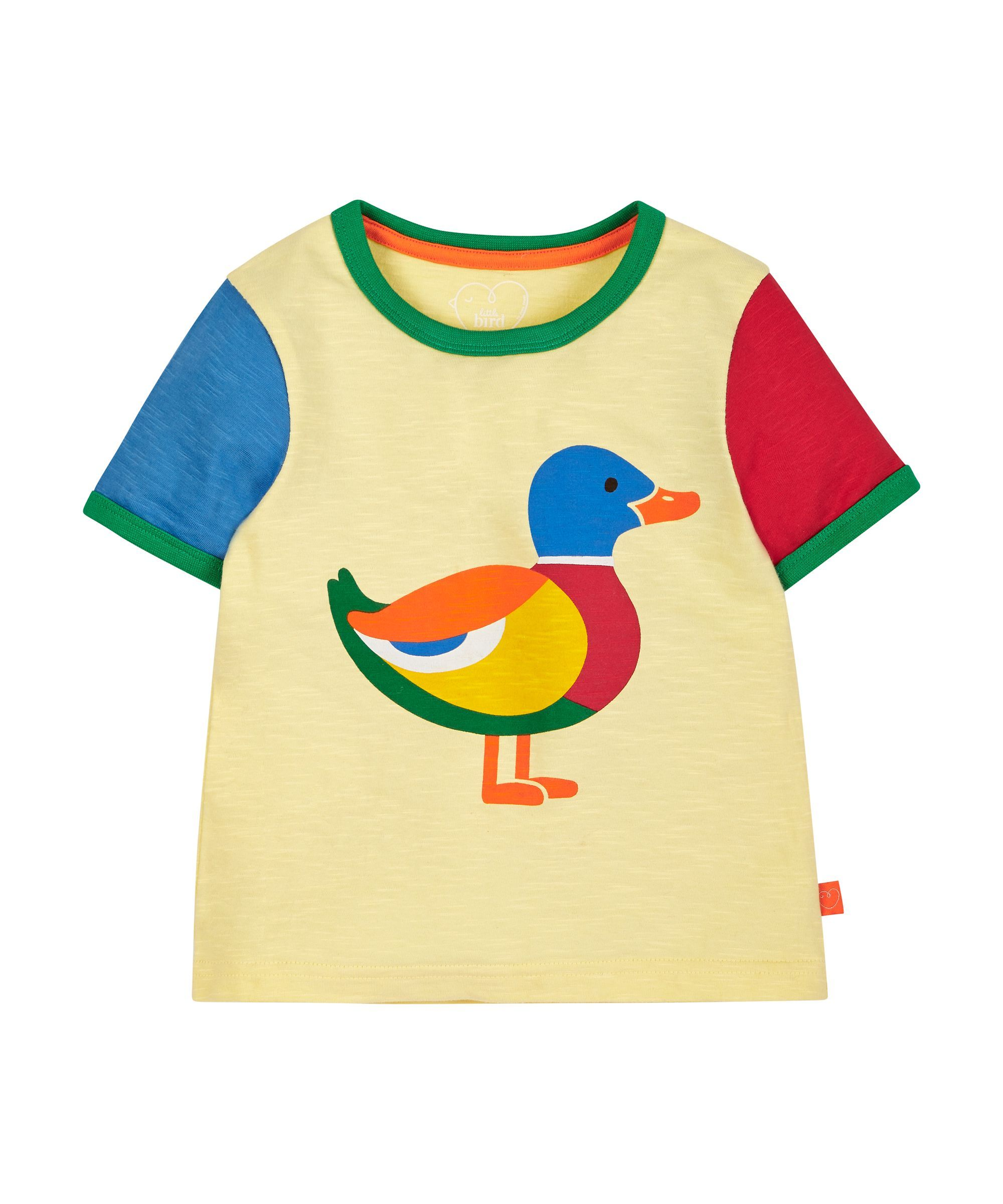 ee8704c9c1f1 Little Bird by Jools Duck T-Shirt   daily routines   Little bird ...