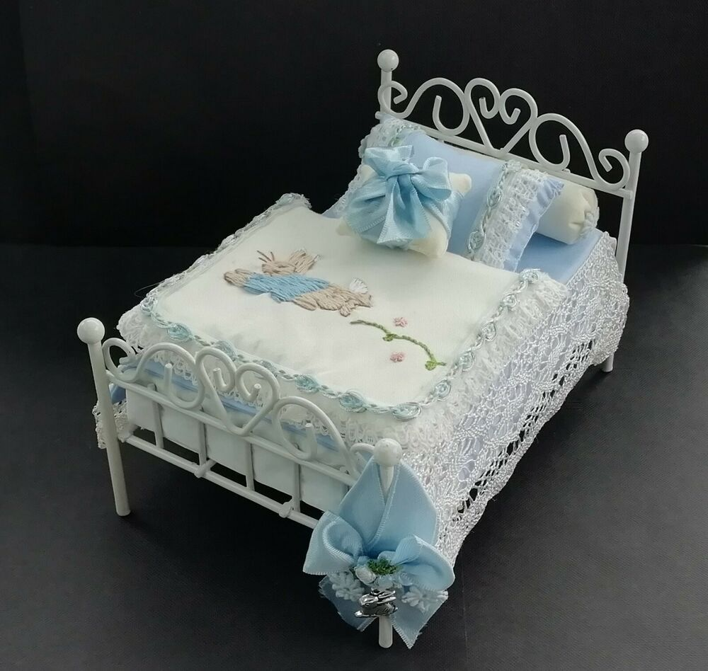 various Handmade Miniature 1//12th scale BEDDING SET for  a SINGLE bed