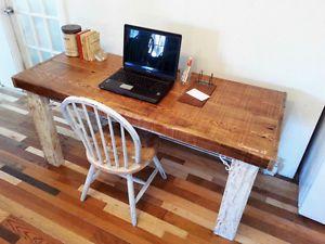 Bureaux de travail sur mesure bois de grange bois noble autre