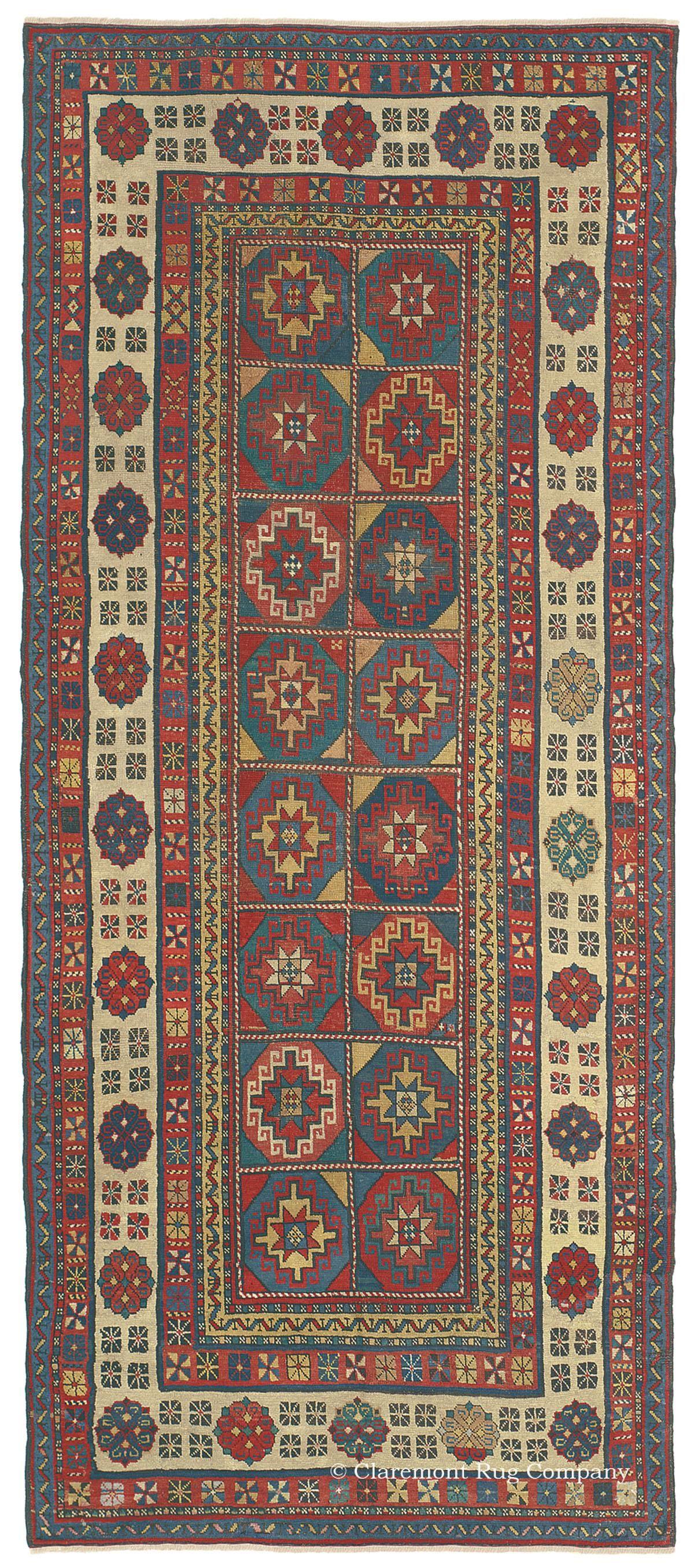 Masterful 19th Century Caucasian Antique Carpet Rugs On Carpet Rugs Carpet