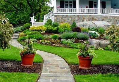 75 desain taman belakang rumah minimalis klasik - beberapa