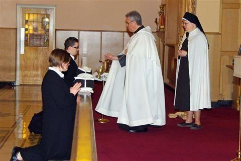 Photo (2) -- Reception of Novices | #CarmeliteSistersForTheAgedAndInfirm