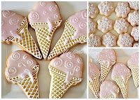 Ice Cream Cone Cookies from My Little Bakery