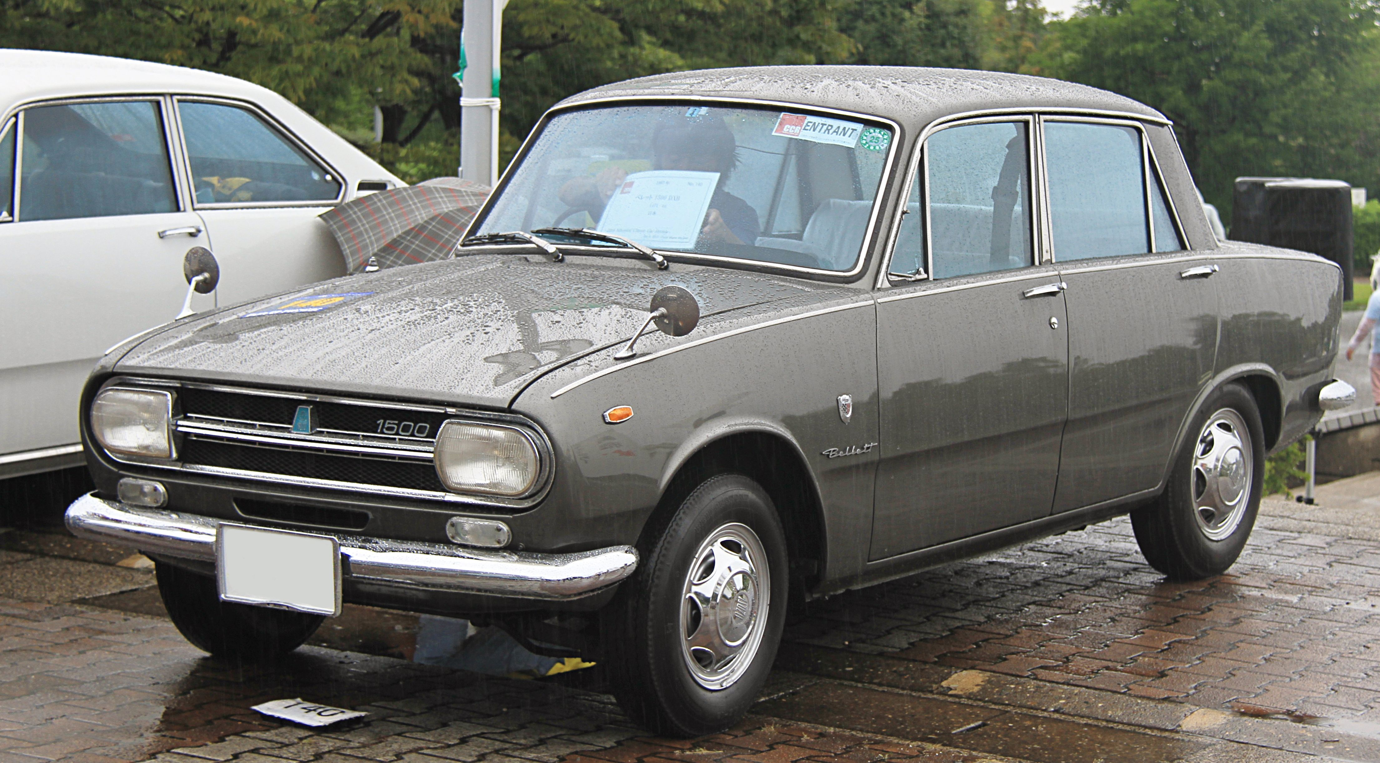 1966 1969 Isuzu Bellett B Sedan