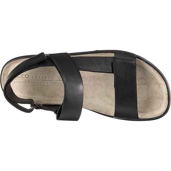 Ecco CORKSPHERE Klassische Sandalen, Obermaterial: Leder