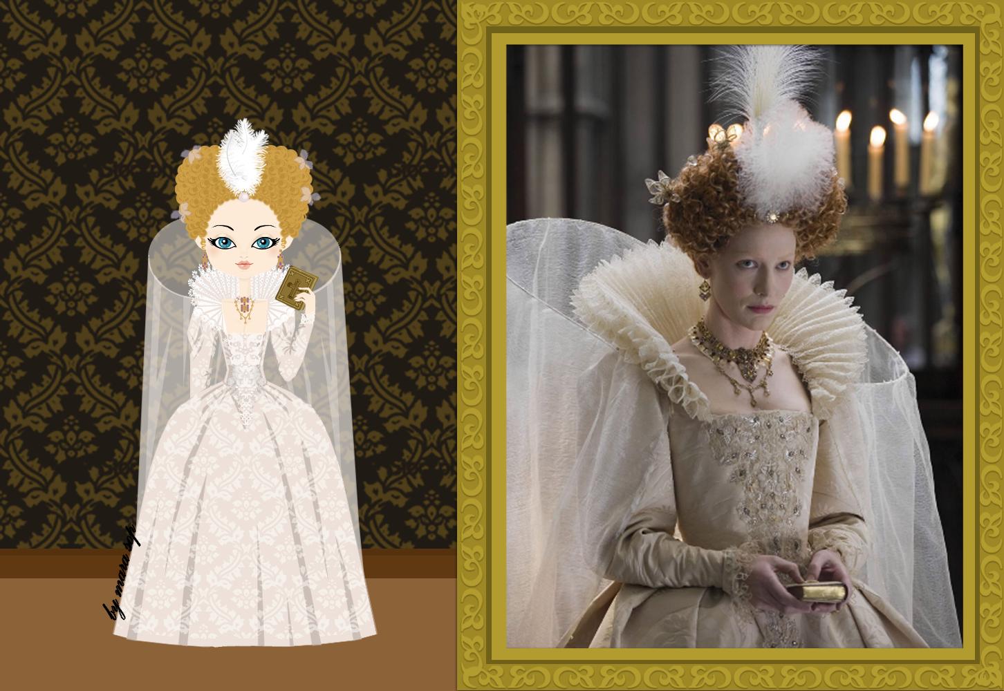 Queen Elizabeth I of England, a costume from Elizabeth