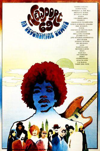 Amazon com: Newport '69 - Jimi Hendrix - 1969 - Devonshire