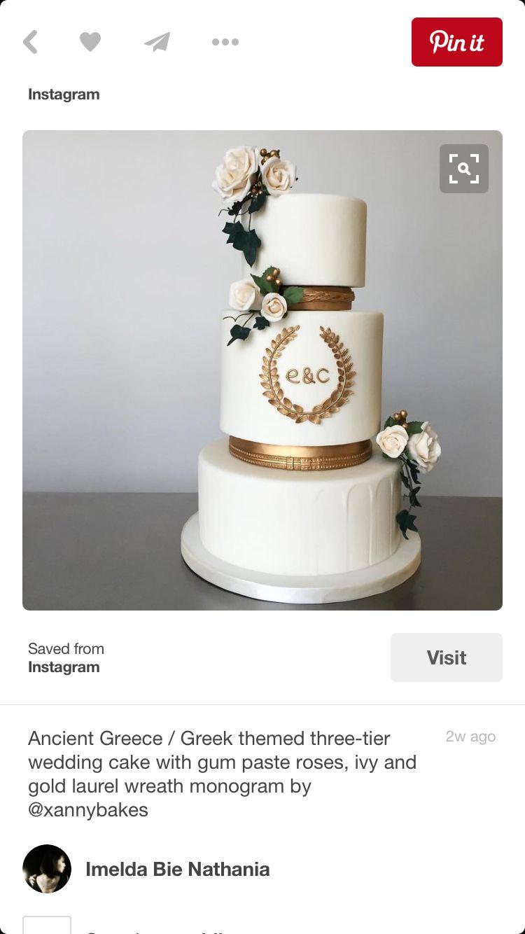 Gold cake awsome pinterest gold cake and wedding