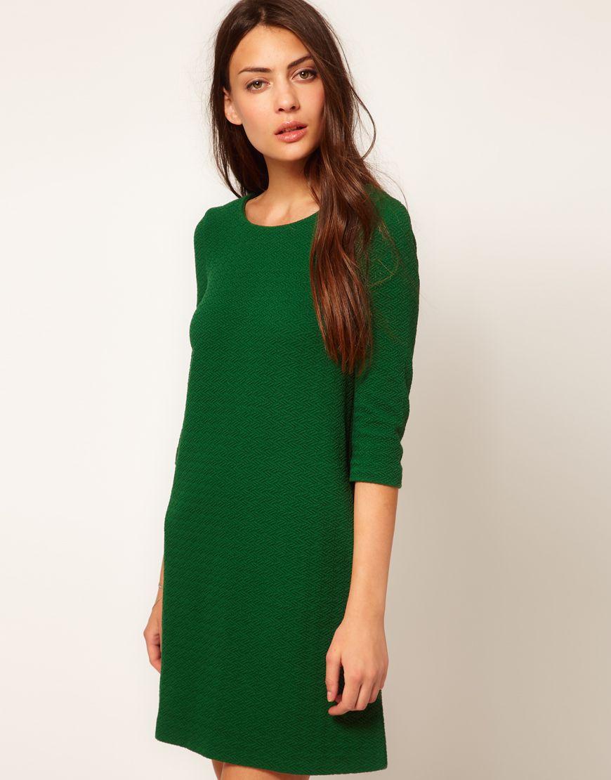 60s green dress  Pin by Amy Brinkerhoff on I Only Wear Dresses  Pinterest