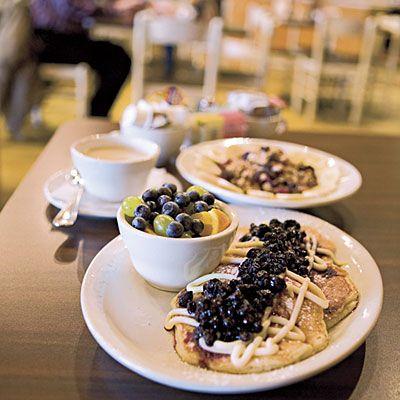 Hot Chocolate Pancakes Louisville