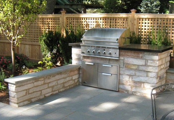 Outdoorküche outdoor küche kleiner garten mit begrenzter fläche kann auch über