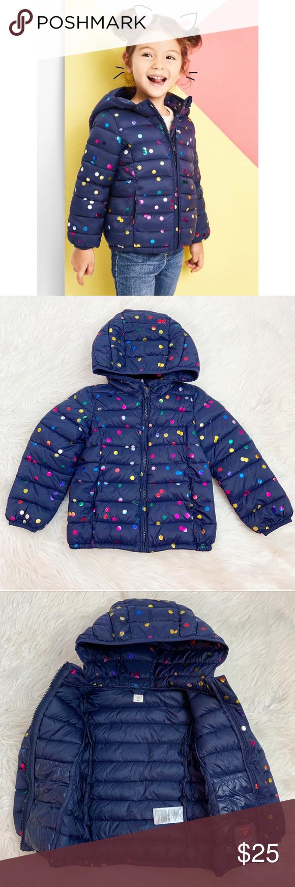 Girls Gap Kids Puffer Jacket Size 4 Toddler Coat Toddler Coat Kid Puffer Gap Kids [ 1740 x 580 Pixel ]