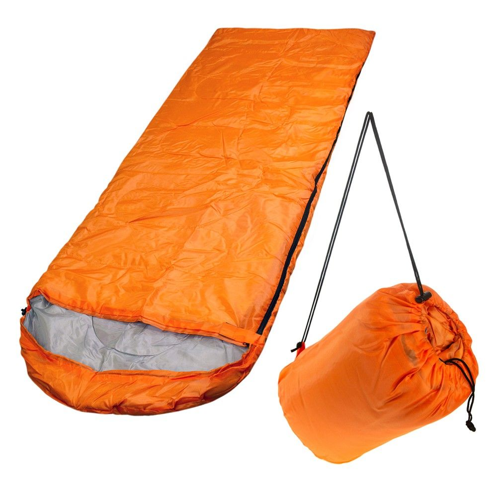 These Wholesale Polyester Hollow Fiber Heavy Duty Sleeping Bags Come In Orange Perfect For Any Season The Outdoor Sleeping Bag Outdoor Essentials Sleeping Bag