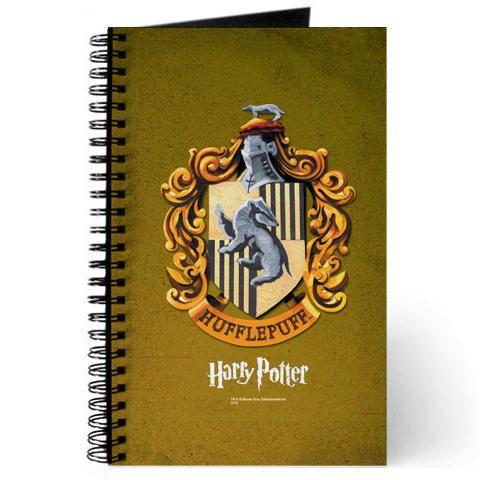 Hufflepuff Notebook Getting Back to Work/School Wishlist - return to work note