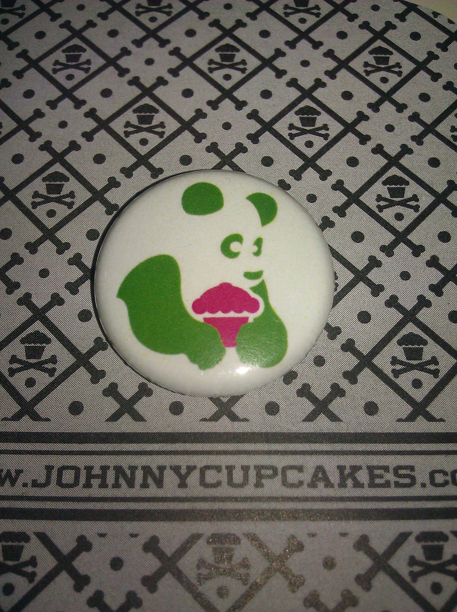 Green Panda/Red Cupcake