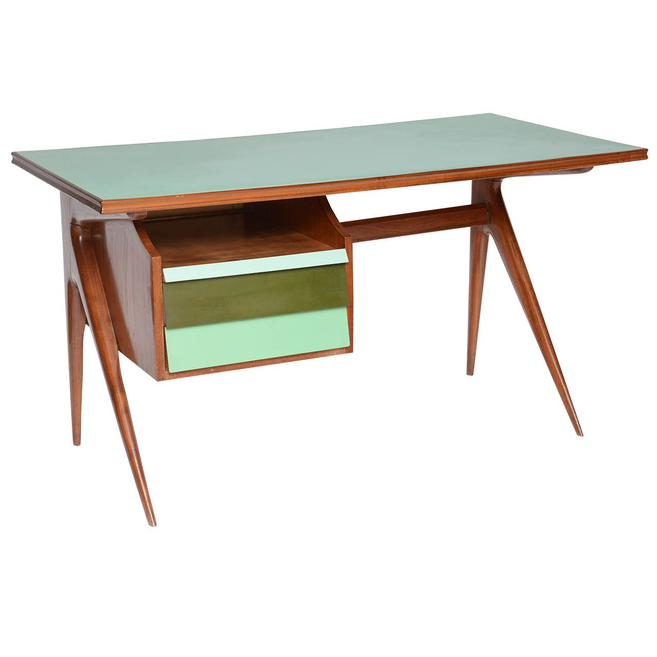 Italian Mid Century Laminate Writing Desk From A Unique Collection Of Antique And Modern Desks A Mid Century Furniture Diy Mcm Furniture Wood Furniture Store