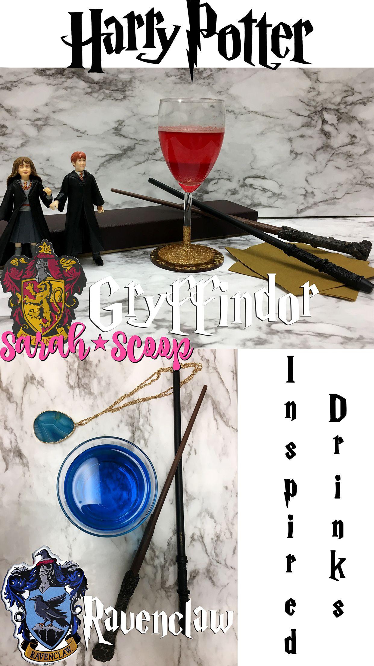 Gryffindor Harry Potter Drink Recipe Harry Potter Drinks