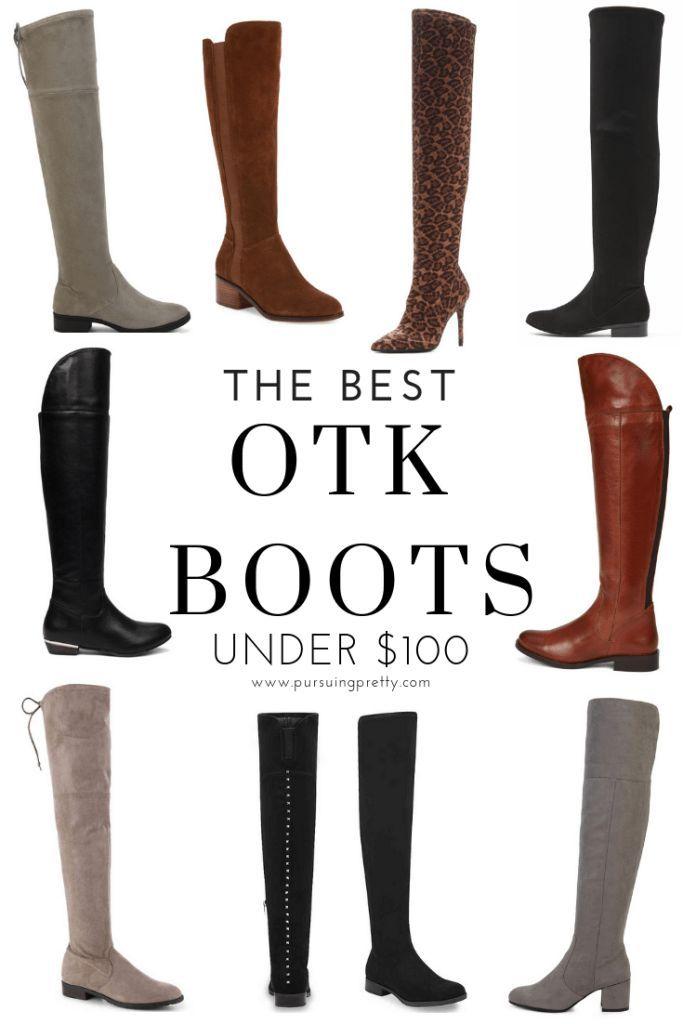 0f7567a836d THE BEST OTK BOOTS UNDER  100! Plus