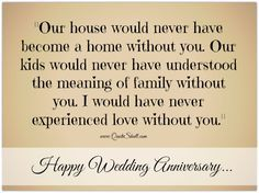 Wedding Anniversary Quotes Happy Wedding Anniversary Quotes For My Wife  Frank  Pinterest .
