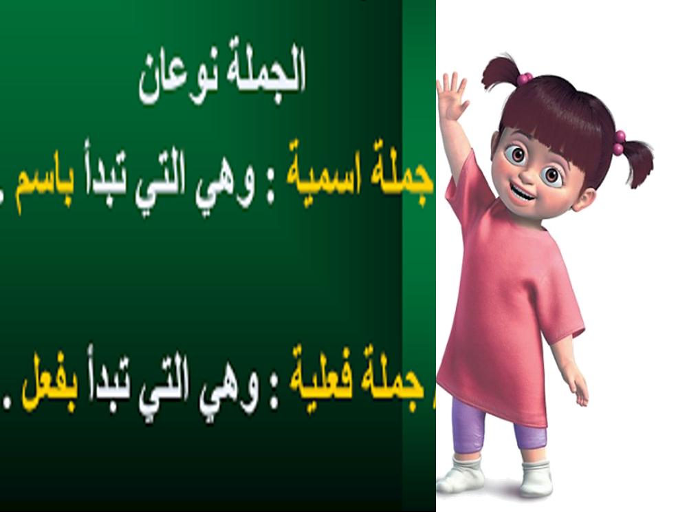 بوربوينت الجملة الاسمية والفعلية للصف الثالث مادة اللغة العربية Movie Posters Movies Poster