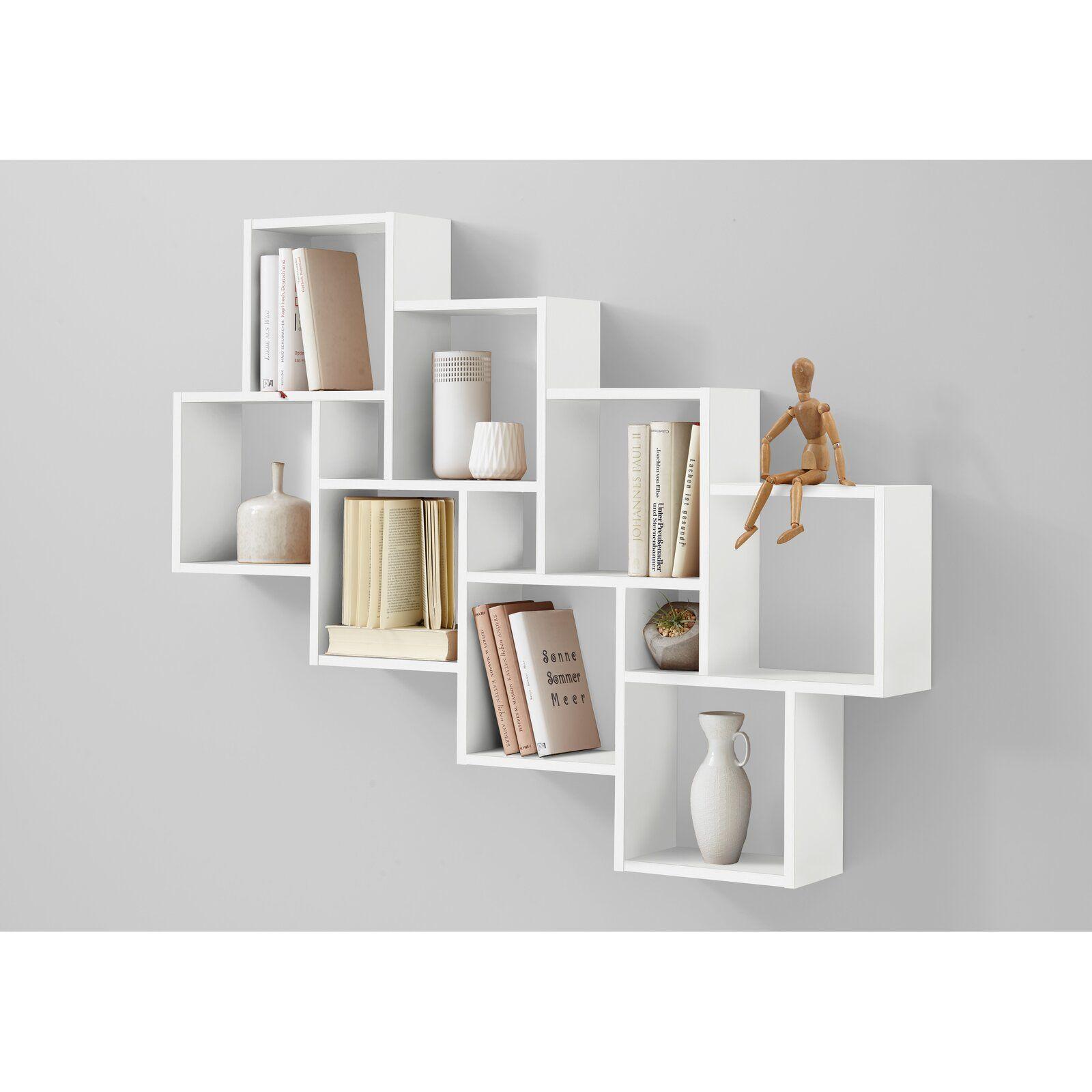 Cube Shelf White Wall Shelves Cube Shelves Wall Mounted Shelves