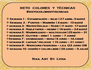 La pagina de la guecica: RETO COLORES Y TÉCNICAS: SEMANA 3
