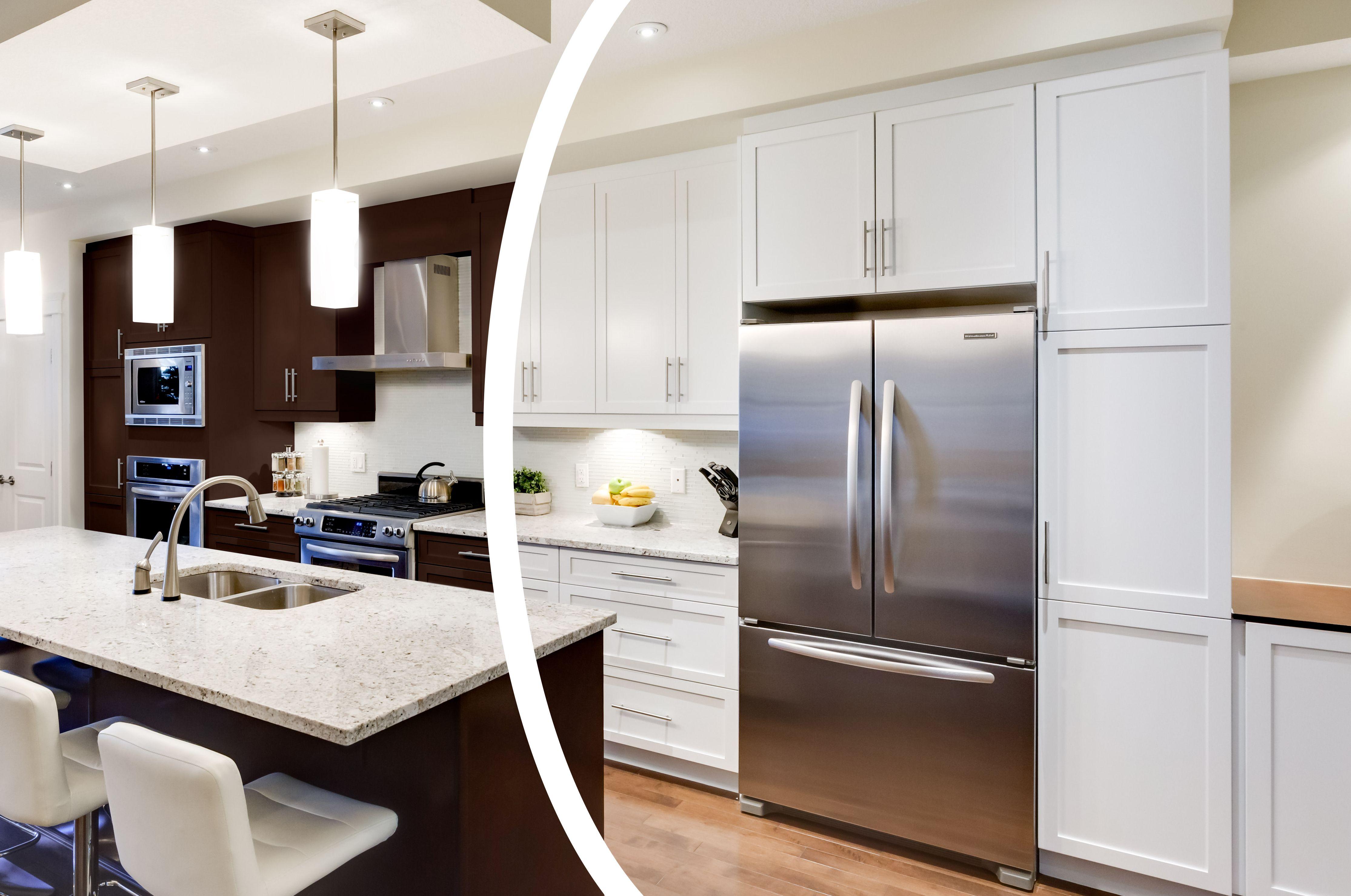 Custom Color White Kitchen Cabinets Kitchen Trends Kitchen Cabinets White Kitchen Cabinets