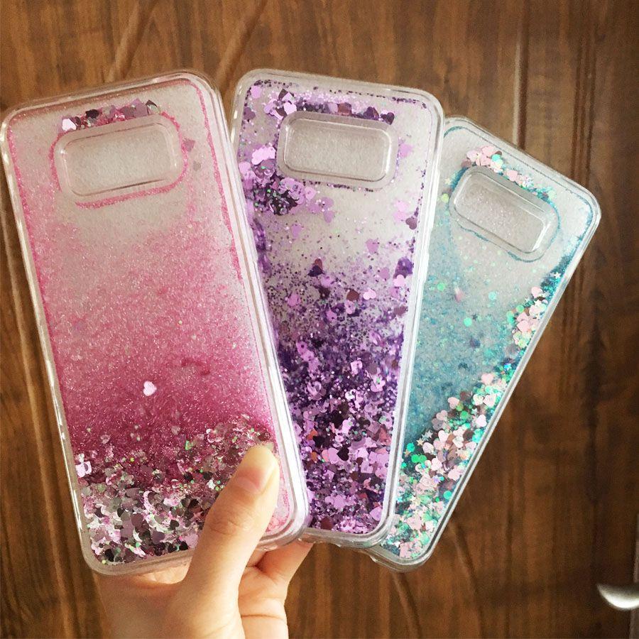 Dynamic Plus Samsung Cover Soft Glitter S8 Sil S8 Case Liquid Cases Galaxy Quicksand