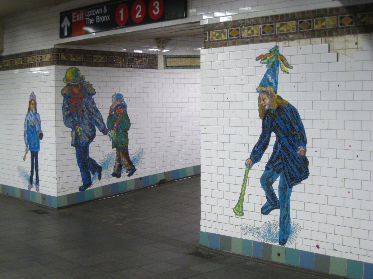 An Art Tour Of Nyc S Subways Nyc Subway Art Nyc Subway Underground Art
