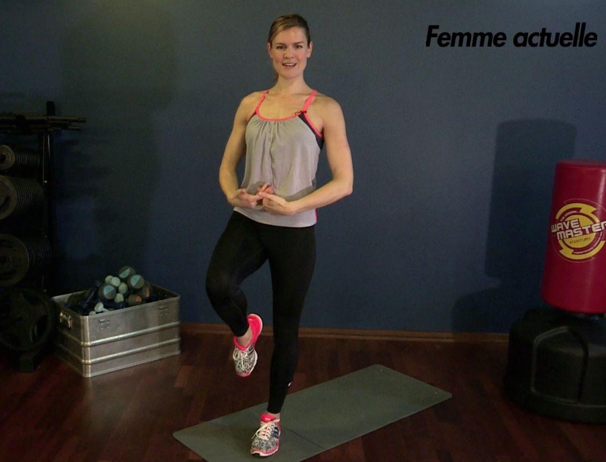 7 minutes de fitness par jour avec Lucile Woodward