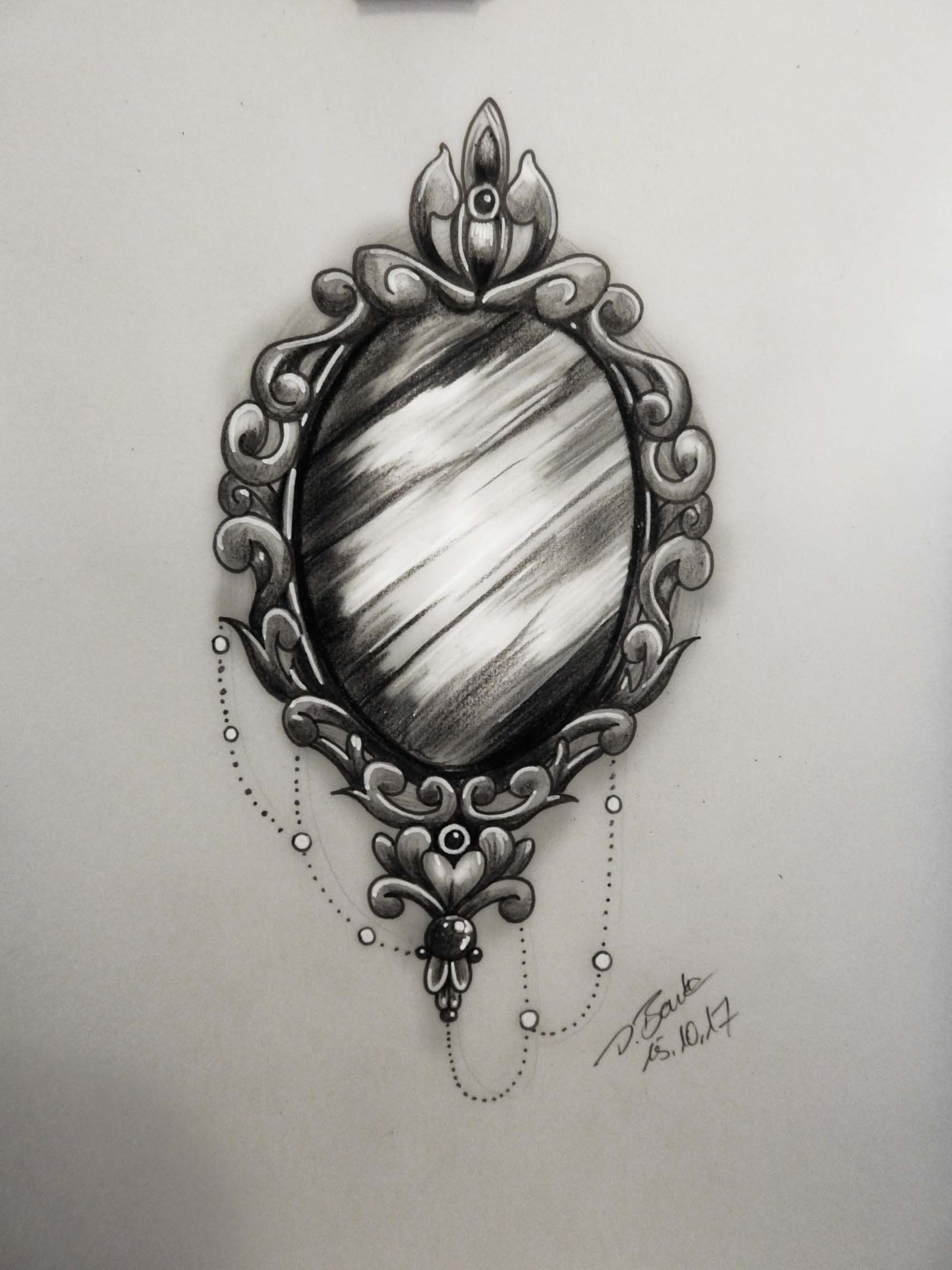 Pin By Consuelo Romero On Tattoo Designs Mirror Tattoos Tattoos Tattoo Drawings
