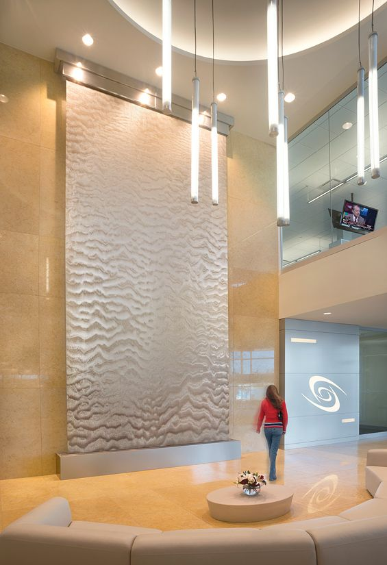 Scott Credit Union | Lobby Waterfalls | Harmonic Environments