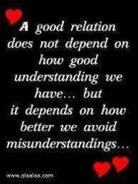 Avoid Misunderstandings.... yes.. | Understanding quotes ...
