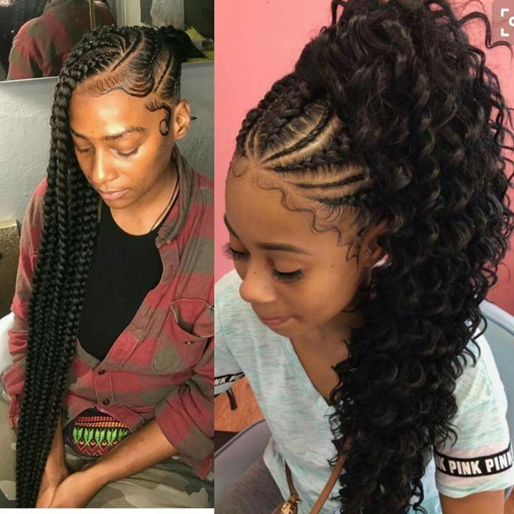 23++ African american braided ponytail ideas
