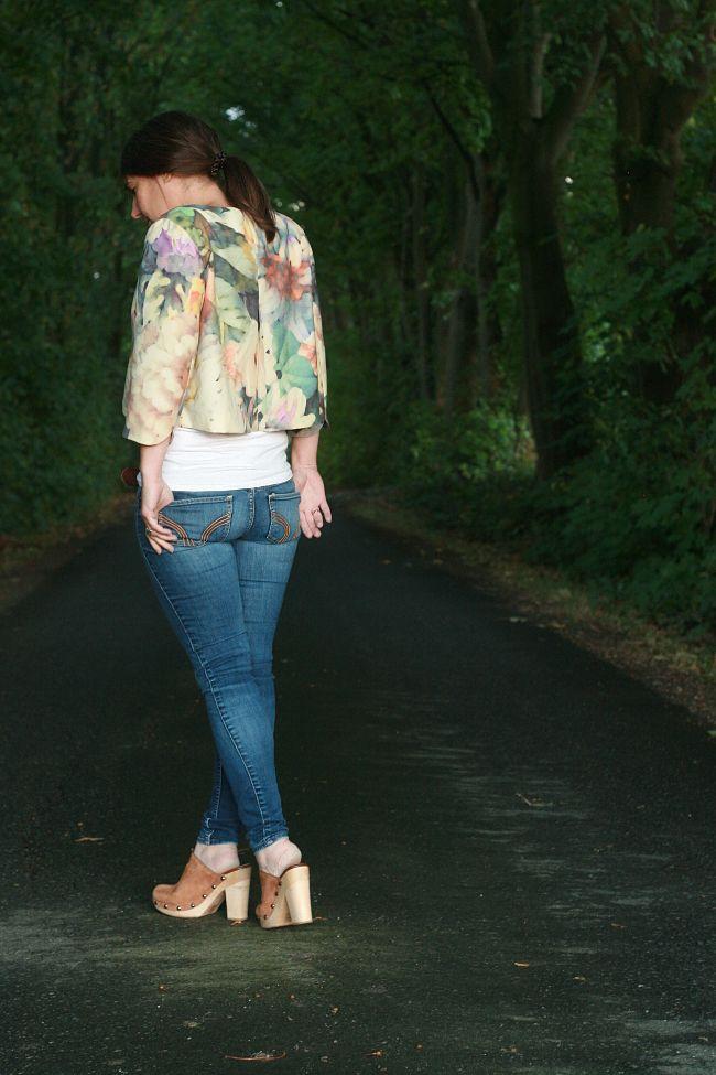 Rehgeschwister Lourdes Cropped Jacket | Crop jacket