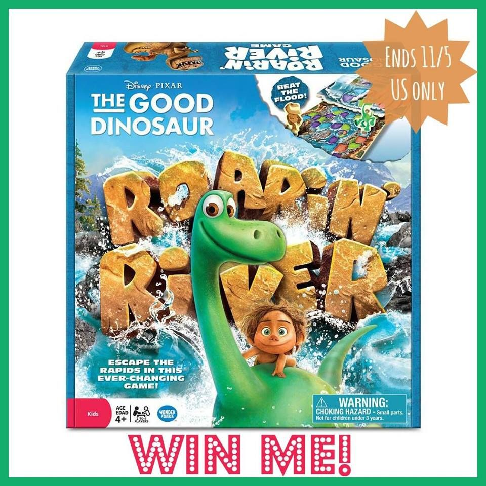 The Good Dinosaur Roaring River Game Giveaway The good