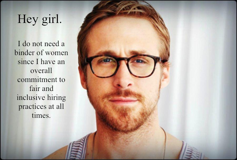 Great Job Funny Meme Ryan Gosling : Inspiration feminist ryan gosling oh ryan