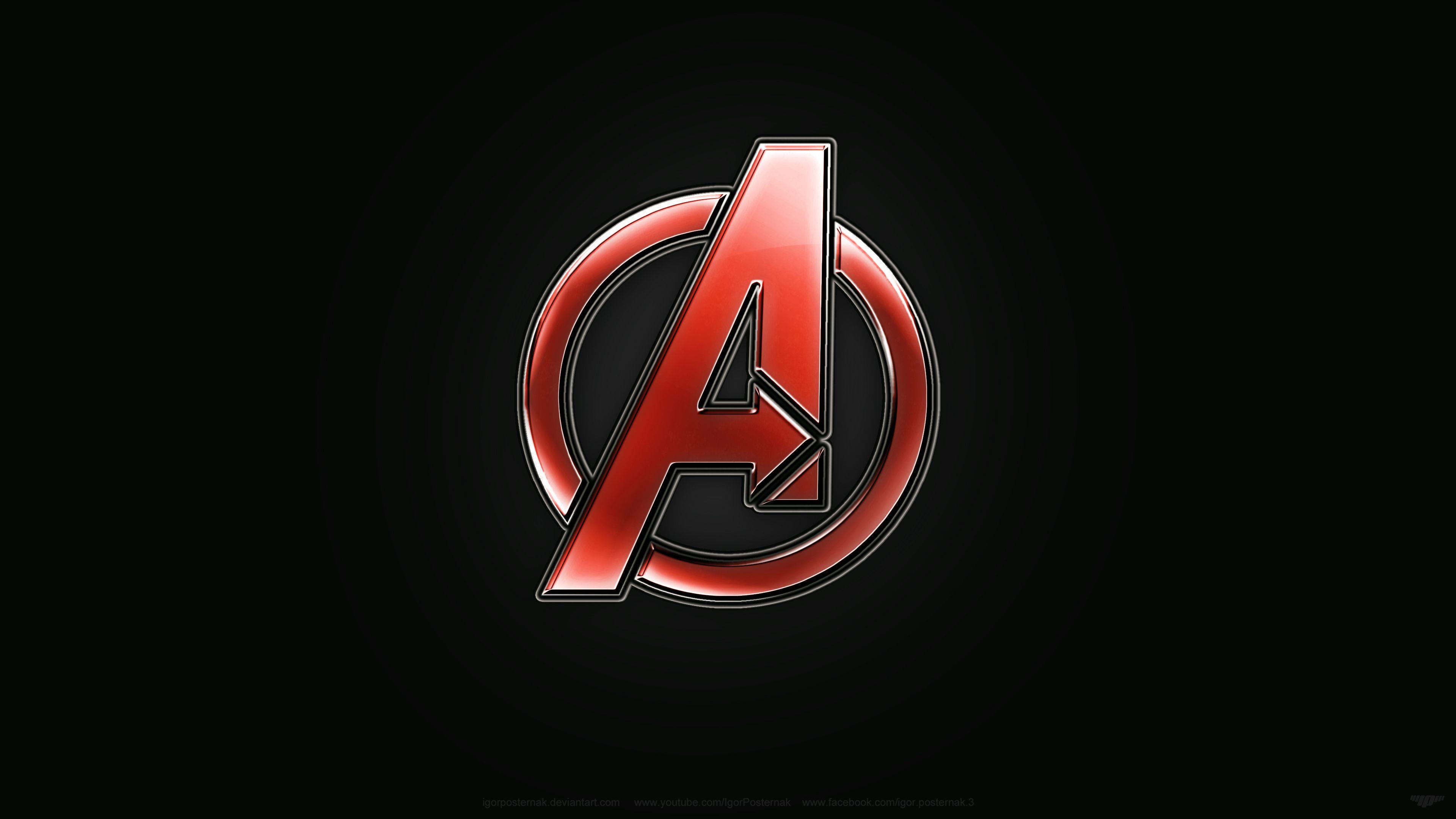 Avengers Logo Design Avengers Logo Avengers Wallpaper Avengers