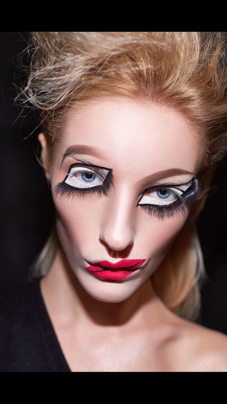 Tá serto... Looks, Maquiagem de fantasia, Maquiagem bizarra